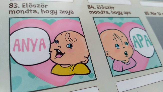 A baba első szavai