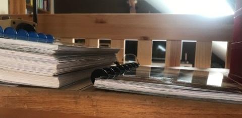 egyetemi jegyzetfüzet