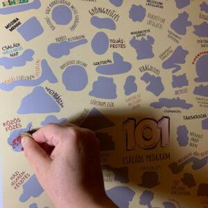 101 családi program kaparós plakát családinaptár.hu