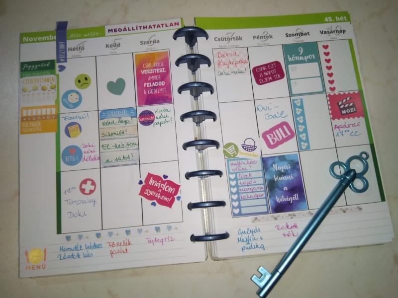 családi szervezés naptárral
