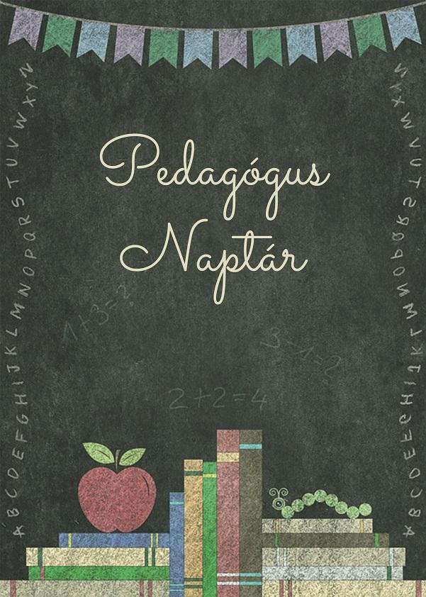 Borító - Pedagógus naplóhoz - Pasztellkréta