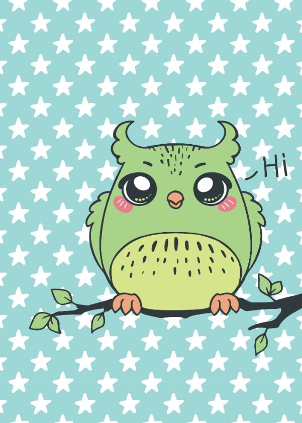 Borító – Zöld bagoly