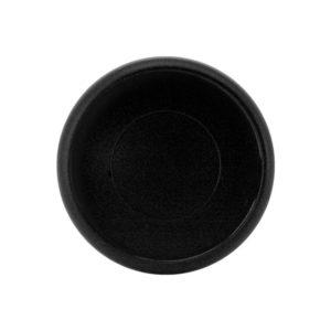 Fekete óriás korong műanyag lapraforgó gördülő naptárhoz jegyzetfüzethez