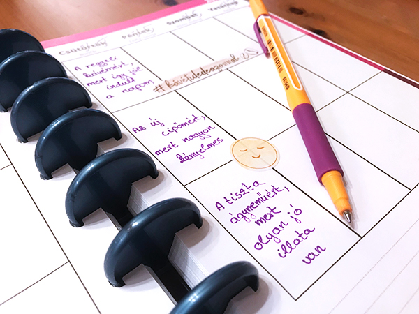 egyedi naptár használata