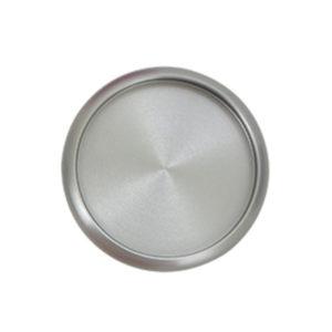 Szürke alumínium korong gödülő korongos naptárhoz füzethez