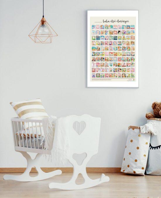 babaszoba kaparós plakáttal