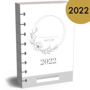 Családi határidőnapló naptár belső lapok 2022