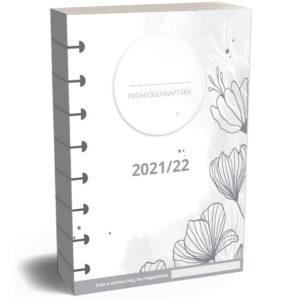 Pedagógusnaptár tanári tervező naptár A5 méretben gördülő korongos
